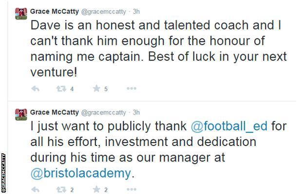 Grace McCatty tweets