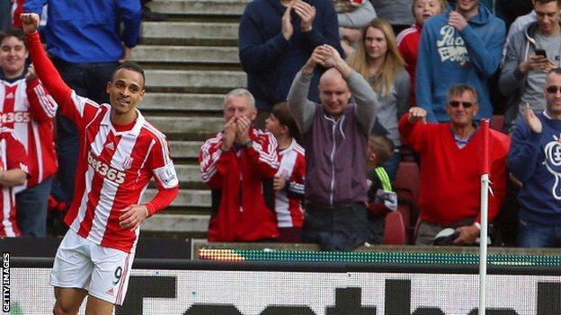 Stoker City forward Peter Odemwingie