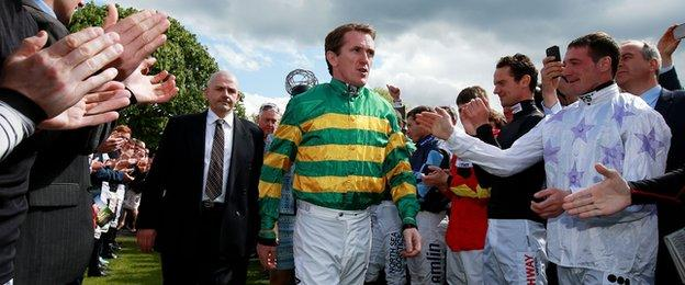 McCoy guard of honour