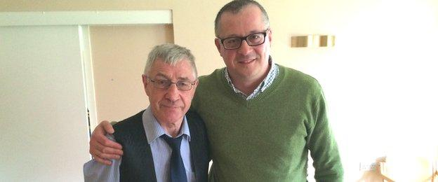 Ken Buchanan and Tom English