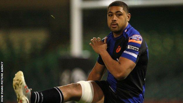 Dragons number eight Taulupe Faletau has won 45 Wales caps and played in one Lions Test