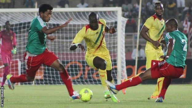 Ethiopia in action against Mali