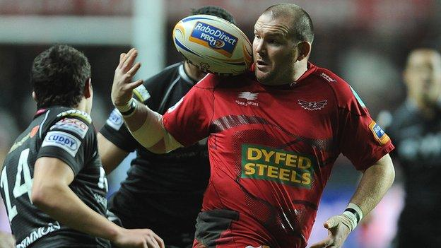 Prop Phil John joined Scarlets as an apprentice in 1999