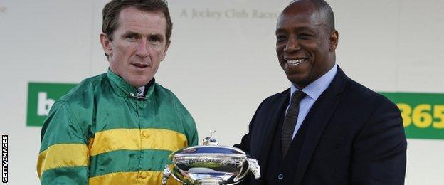 AP McCoy & Ian Wright