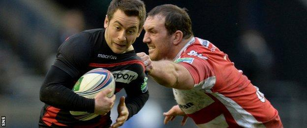 Edinburgh will face Gloucester in Friday's European Challenge Cup final