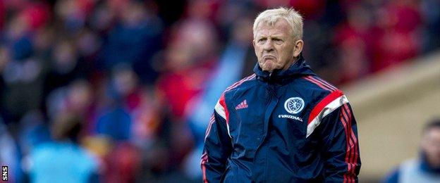 Calum Mallace hopes his performances can catch the eye of Scotland manager Gordon Strachan