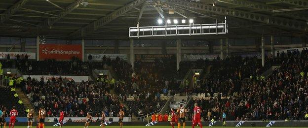 Liverpool away end