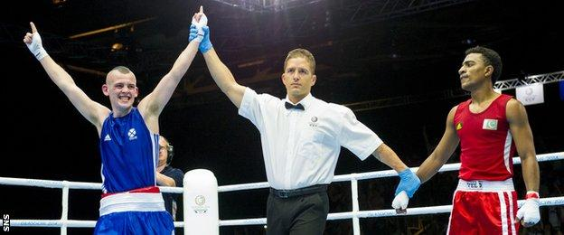 Joe Ham at the Commonwealth Games