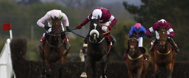 Paul Carberry and Don Cossack at Punchestown