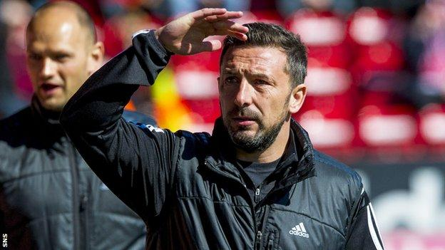 Derek McInnes has been at Aberdeen for two seasons, winning the League Cup last season