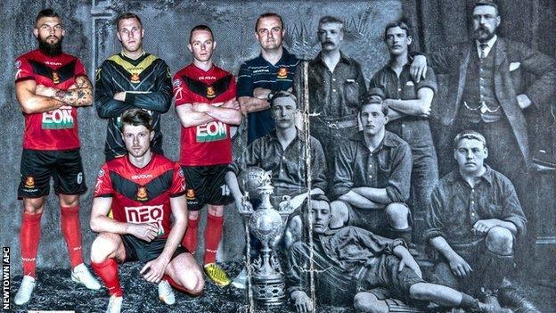Newtown FC present and past