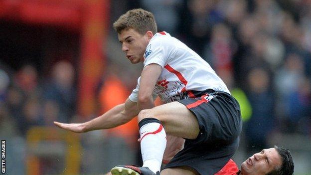 Liverpool defender Jon Flanagan