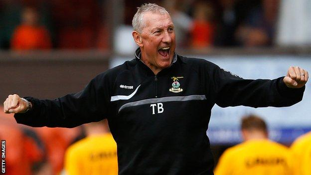 Terry Butcher's former clubs managed include Inverness Caledonian Thistle and Hibernian in Scotland.