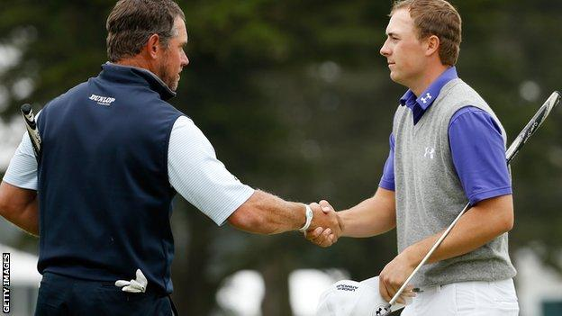 Lee Westwood and Jordan Spieth
