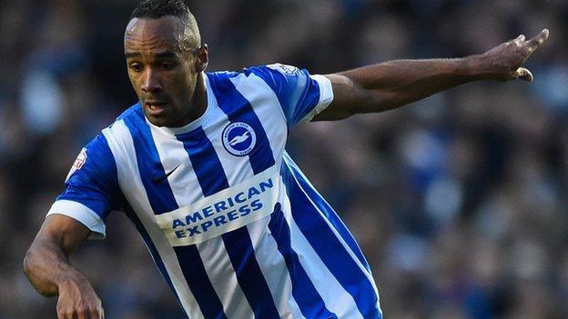 Brighton striker Chris O'Grady