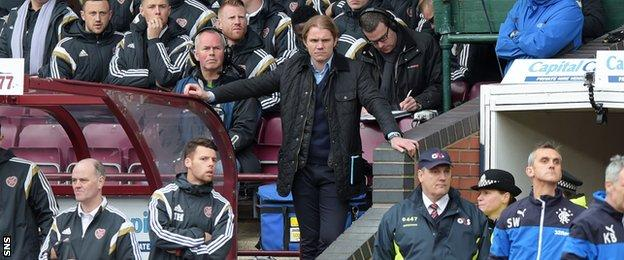Robbie Neilson was sent to the stand