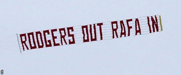 Brendan Rodgers banner