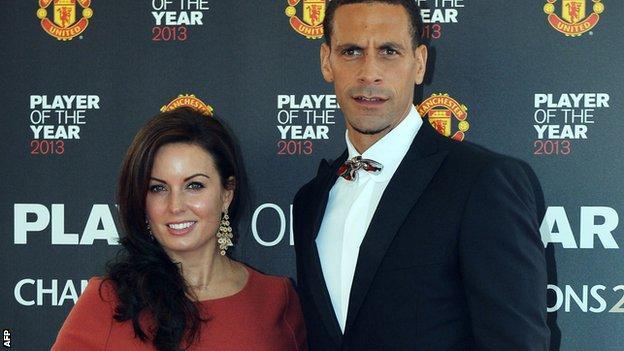 Rio Ferdinand married Rebecca Ellison in 2009