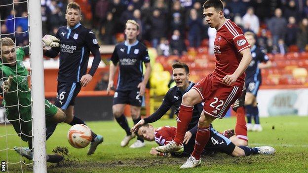 Aberdeen midfielder Ryan Jack has yet to sign a new deal