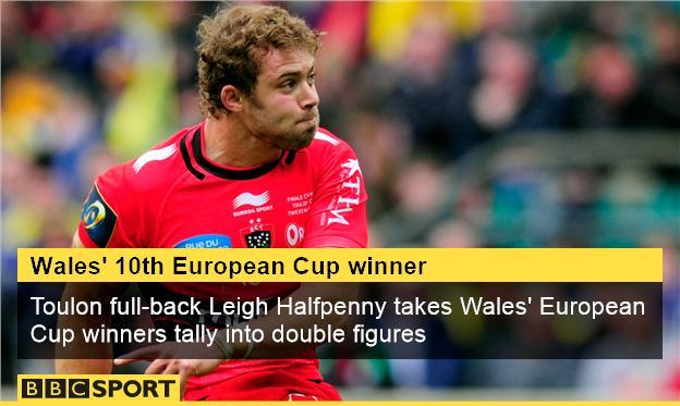 Leigh Halfpenny: Wales' 10th European champion