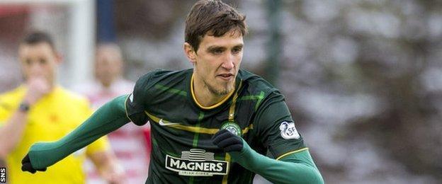Serbian striker Stefan Scepovic