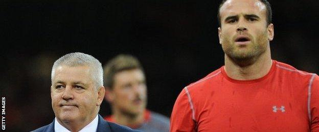 Warren Gatland and Jamie Roberts