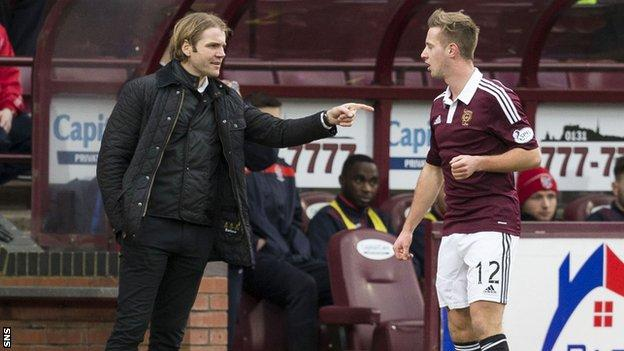 Robbie Neilson (left) has extended the contract of Billy King and two other players