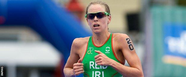Londonderry triathlete Aileen Reid