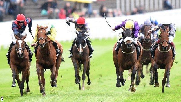 Runners in the Chester Cup