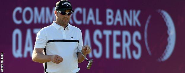 Marc Warren at the Qatar Masters