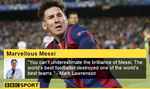 Mark Lawrenson on Messi