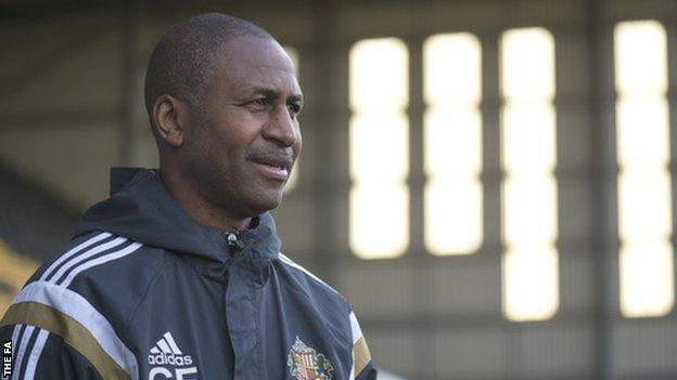 Sunderland Ladies manager Carlton Fairweather