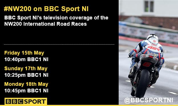 BBC Sport NI coverage of the NW200