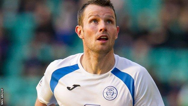 Queen of the South defender Andy Dowie