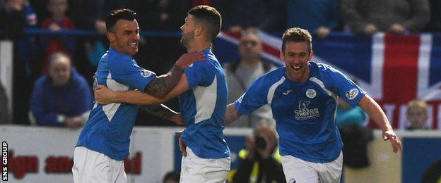 Queens have enjoyed two good home wins against Rangers this season