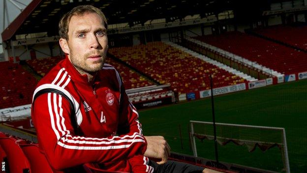 Aberdeen captain Russell Anderson