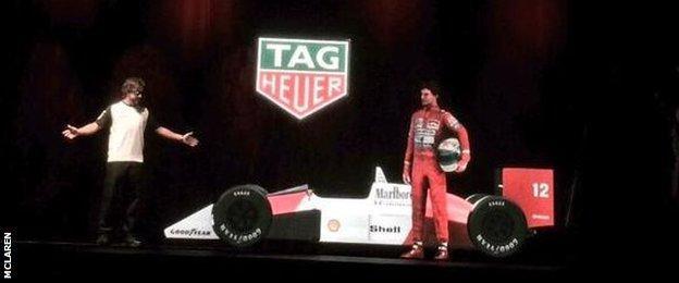 Alonso and Senna