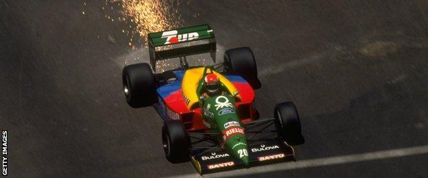 1989 Benetton: Johnny Herbert