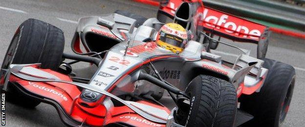 2008 McLaren