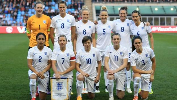 Women s World Cup  Who is in England s squad for Canada  - BBC Sport 589cac34a0