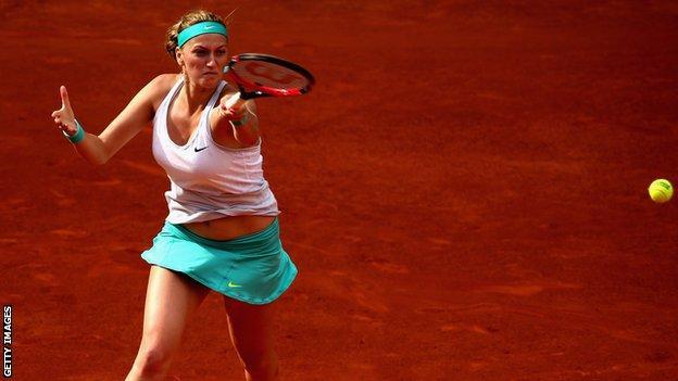 Petra Kvitova Madrid Open