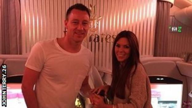 John Terry's Instagram picture
