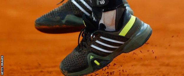 Andy Murray's shoe