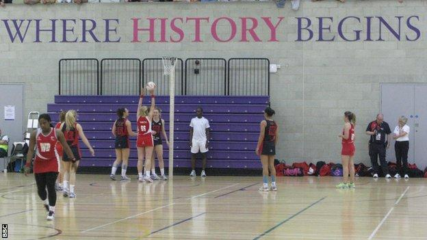 Team Jets in action in Loughborough