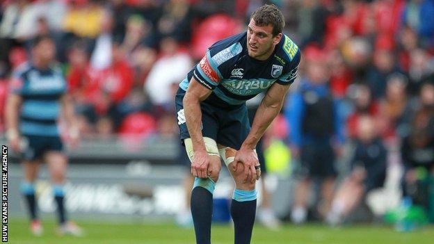 Sam Warburton, Cardiff Blues