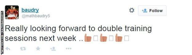 Mathieu Baudry tweet