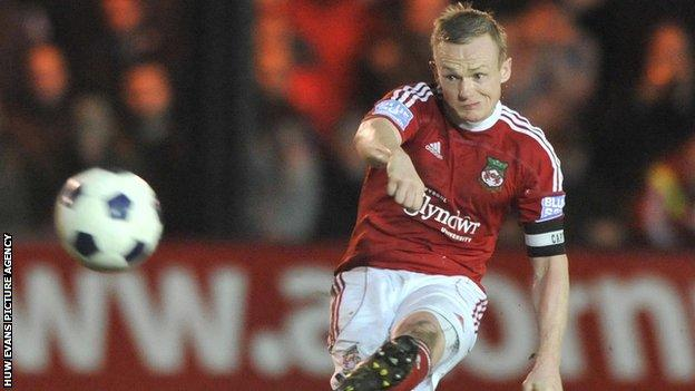Dean Keates has played more than 150 games for Wrexham since joining in August 2010