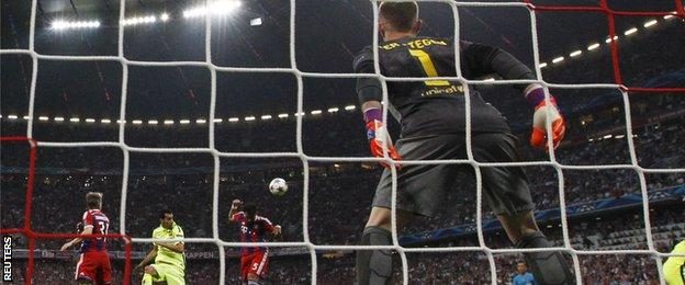 Medhi Benatia's early header was the first goal that Barcelona had conceded in 645 minutes
