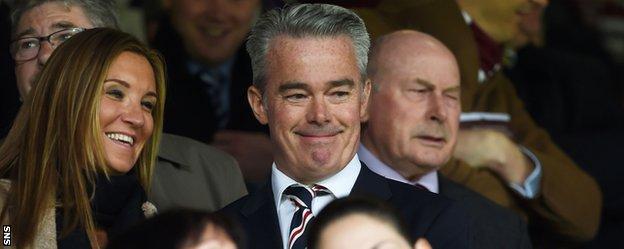 Interim chairman at Rangers, Paul Murray