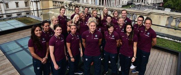 The England World Cup squad